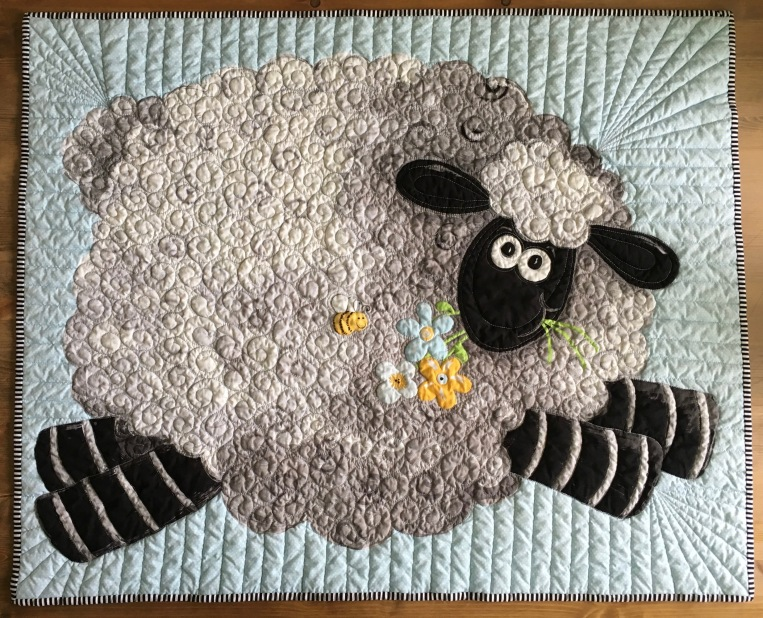Wooly Sheep Quilt Ann Walsh Quilting